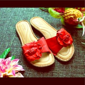 Pink Sonoma Sandals with Flower